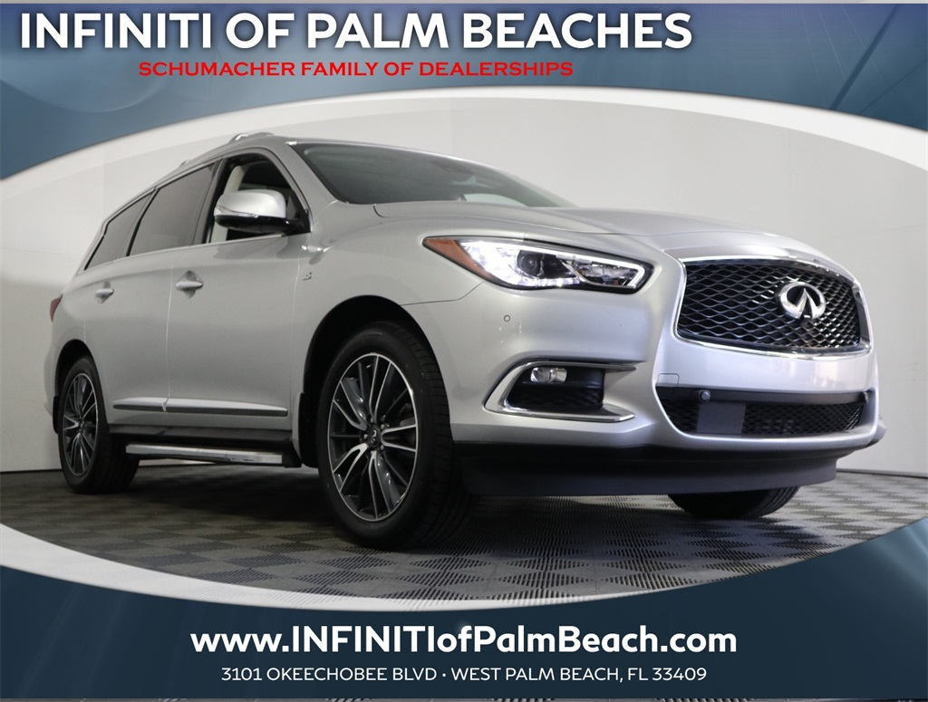 Pre-Owned 2017 INFINITI QX60 Deluxe Technology w/Theater Package