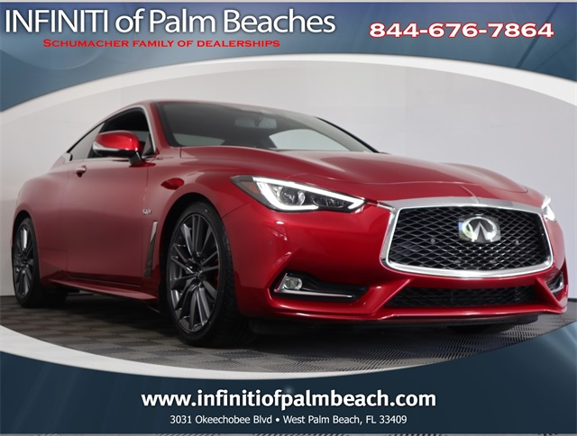 Used 2017 Infiniti Q60 Red Sport 400 For Sale North Palm Beach Fl