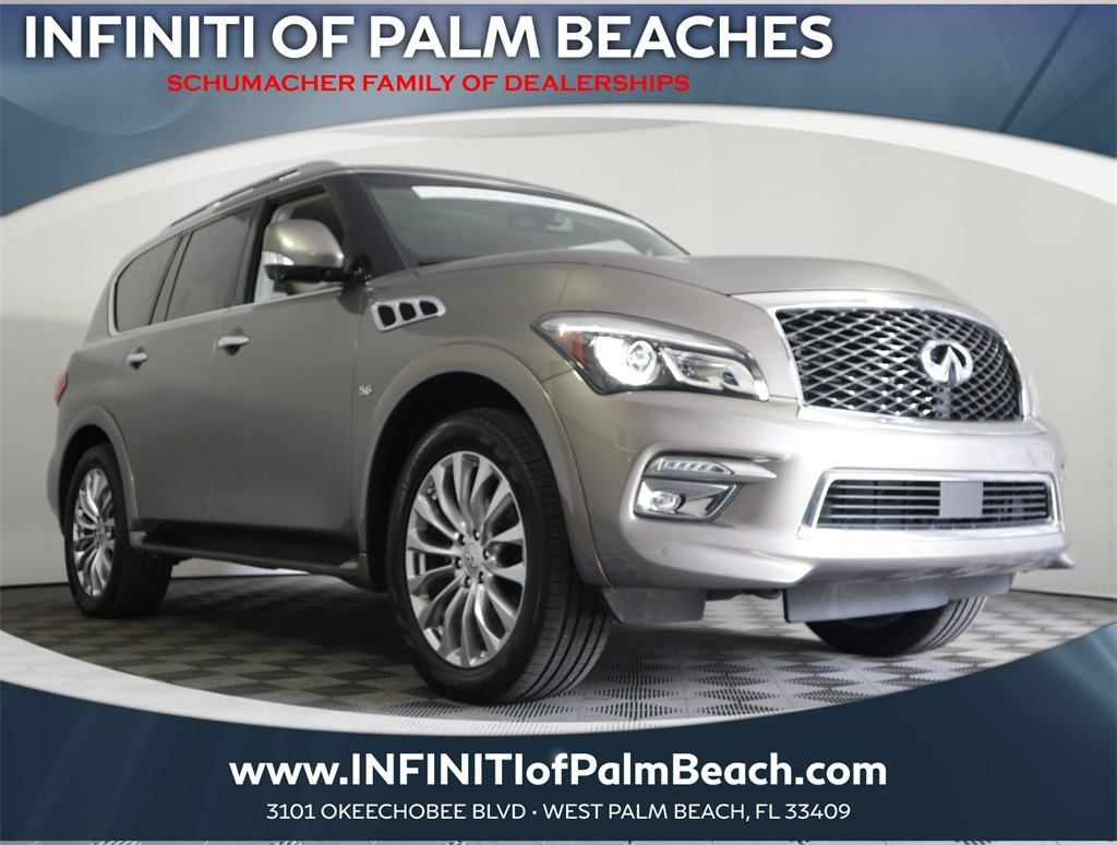 Pre-Owned 2016 INFINITI QX80 w/Driver Assistance Package
