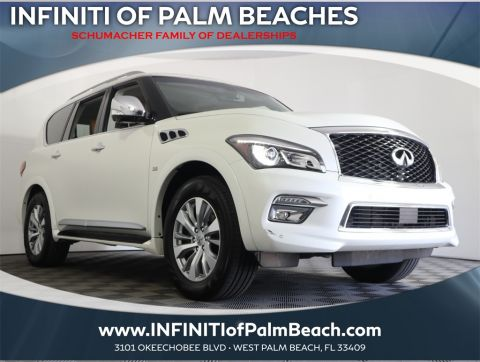 Pre-Owned 2016 INFINITI QX80 AWD Signature